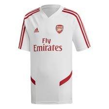 Arsenal Trænings T-Shirt - Hvid/Rød Børn
