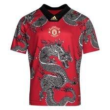 Manchester United Spillertrøje Chinese New Year - Rød/Grå Børn LIMITED EDITION
