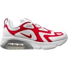 Nike Air Max 200 - Hvid/Rød/Sølv Børn