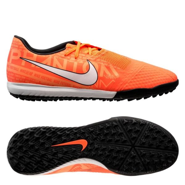Nike Phantom Venom Academy TF Fire - Orange/Hvid/Orange