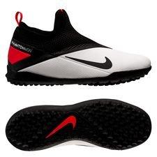 Nike Phantom Vision 2 Academy DF TF Player Inspired - Hvid/Sort/Pink Børn