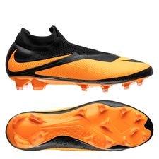Nike Phantom Vision 2 Elite DF FG Future DNA - Sort/Orange LIMITED EDITION