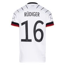 Tyskland Hjemmebanetrøje EURO 2020 RÜDIGER 16