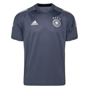Tyskland Trænings T-Shirt - Grå/Hvid