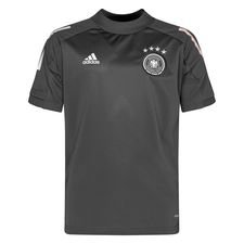 Tyskland Trænings T-Shirt - Grå/Hvid Børn