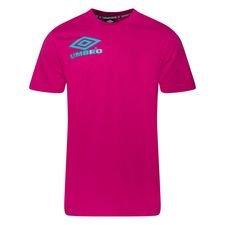 Umbro T-Shirt Collider Crew - Pink/Turkis