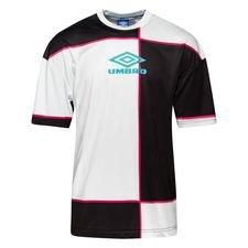 Umbro T-Shirt Quadratic - Hvid/Sort/Turkis