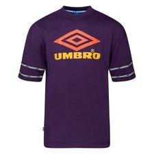 Umbro T-Shirt Reaction Crew - Lilla/Orange/Gul