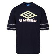Umbro T-Shirt Reaction Crew - Sort/Neon/Rød