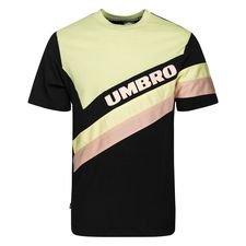Umbro T-Shirt Sector Crew - Grøn/Sort/Pink