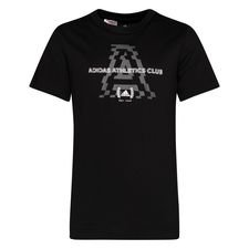 adidas Athletics Club Graphic T-Shirt - Sort/Grå Børn