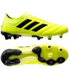adidas Copa 19.1 FG/AG Hard Wired - Gul/Sort