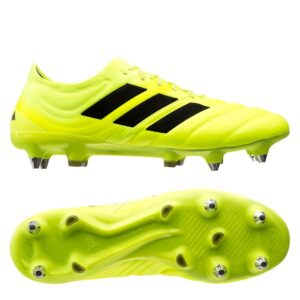 adidas Copa 19.1 SG Hard Wired - Gul/Sort