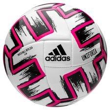 adidas Fodbold Uniforia Club Ball EURO 2020 - Hvid/Sort/Pink