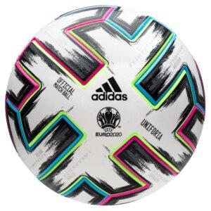 adidas Fodbold Uniforia Pro EURO 2020 - Hvid/Sort/Grøn/Turkis