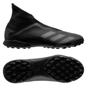 adidas Predator 20.3 Laceless TF Shadowbeast - Sort/Grå Børn