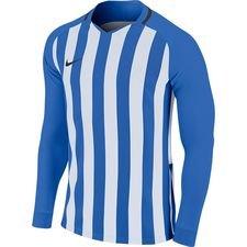 Nike Spilletrøje Striped Division III - Blå/Hvid Børn