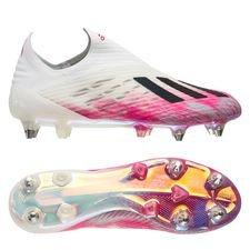 adidas X 19+ SG Uniforia - Hvid/Sort/Pink