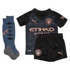 Manchester City Udebanetrøje 2020/21 Mini-Kit Børn