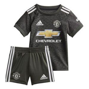 Manchester United Udebanetrøje 2020/21 Baby-Kit Børn FORUDBESTILLING