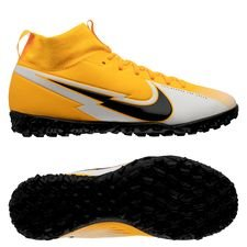 Nike Mercurial Superfly 7 Academy TF Daybreak - Orange/Sort/Hvid Børn