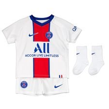 Paris Saint-Germain Udebanetrøje 2020/21 Baby-Kit Børn
