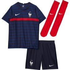 Frankrig Hjemmebanetrøje EURO 2020 Mini-Kit Børn