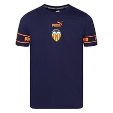 Valencia T-Shirt FtblCulture - Navy/Orange