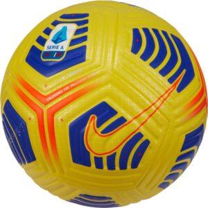 Nike Fodbold Flight Serie A Hi-Vis - Gul/Lilla