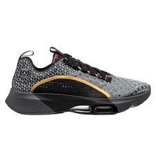 Nike Løbesko Air Zoom Renegade Jordan x PSG - Sort/Guld/Bordeaux/Hvid