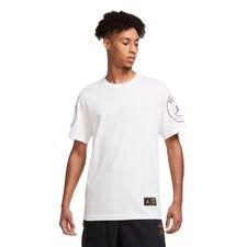 Paris Saint-Germain T-Shirt Logo Jordan x PSG - Hvid