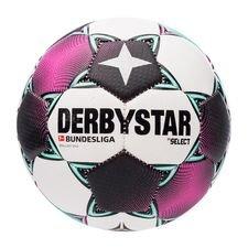Derbystar Fodbold Brillant Mini Bundesliga 2020/21 - Hvid/Pink/Sort