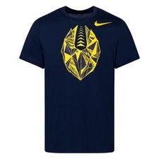 Tottenham X NFL T-Shirt - Navy/Gul