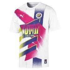 PUMA Retro T-Shirt New Levels - Hvid/Pink