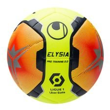 Uhlsport Fodbold Elysia Ligue 1 2020/21 Pro Training 2.0 - Gul/Rød/Navy