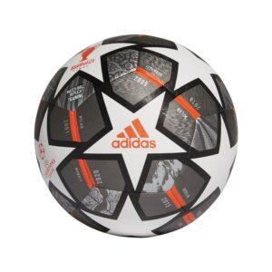 adidas Fodbold Champions League Finale 2021 Training - Hvid/Sølv/Sølv FORUDBESTILLING