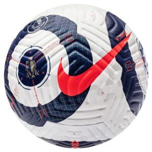 Nike Fodbold Flight Premier League - Hvid/Blå/Pink