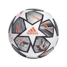 adidas Fodbold Champions League Finale 2021 Kampbold 20Y - Hvid/Sølv/Sølv