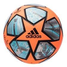 adidas Fodbold Champions League Finale 2021 Kampbold 20Y - Orange/Lilla/Sølv