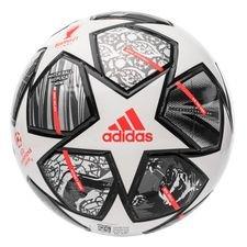 adidas Fodbold Champions League Finale 2021 Mini - Hvid/Sølv/Sølv